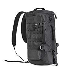 100% brand new and high quality Features: Made of durable waterproof fabric and high-quality zipper for durability. Lightweight and breathable, it can be single shoulder, double shoulders or diagonal. Large capacity, can store a variety of fi...