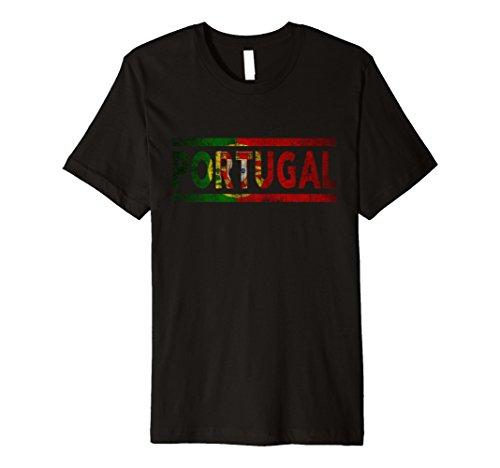 Mens Portuguese National Pride Flag T-Shirt Large (Portugal Home Retro Shirt)