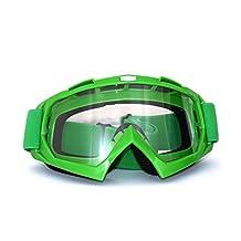 Evomosa Motorcycle Motocross Helmet Goggles Glasses Snowboard Ski Sunglasses ATV Bikes Eyewear Clear Lens