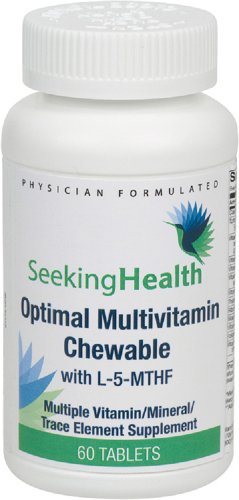 SEEKING HEALTH - MULTIVITAMINES A CROQUER - 60 TABLETTES