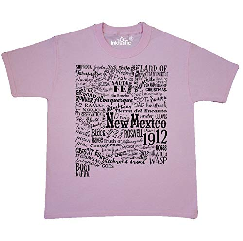 inktastic - New Mexico State Youth T-Shirt Youth X-Small (2-4) Light Pink 331a3 - Farmington 4 Light
