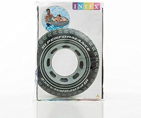 Flotador Hinchable en forma de rueda – Neumático para mar y ...