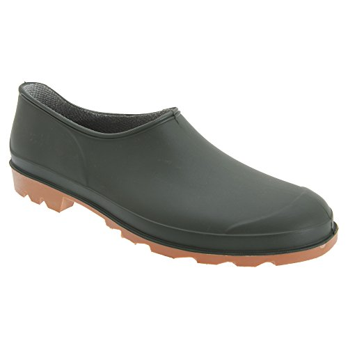 Stormwell Unisex Gardener Garden Clog/Welly Shoes (12 US) (Green)