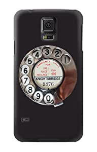 S0059 Retro Rotary Phone Dial On Case Cover for Samsung Galaxy S5