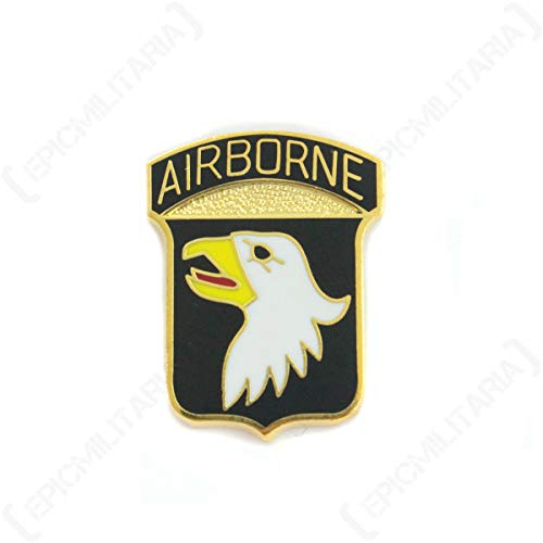 Fosco Replica US 101st Airborne Pin Badge - Premium