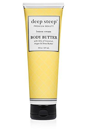 Deep Steep Classic Body Butter, 8 fl oz, Lemon Cream