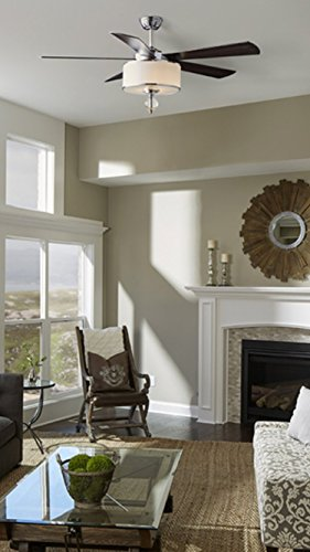 Fanimation lp8242slch studio victoria harbor collection downrod product description perfectly complement your transitional decor with this ceiling fan aloadofball Gallery