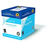 Hammermill Paper, Tidal, 20lb, 8.5 x 11, Letter, 3 Hole Punch, 92 Bright, 2500 sheets / Express Pack ( no ream wrap), (163130), Made In The USA