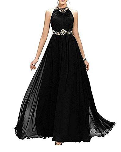 Bainjinbai besetzte Lang Pailetten Cocktail Black Elegant Abendkleider Damen Ballkleider Brautjungfernkleider IwIdrZq