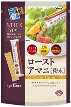 日本製粉 ローストアマニ 粉末 5g×15本 ×9セット