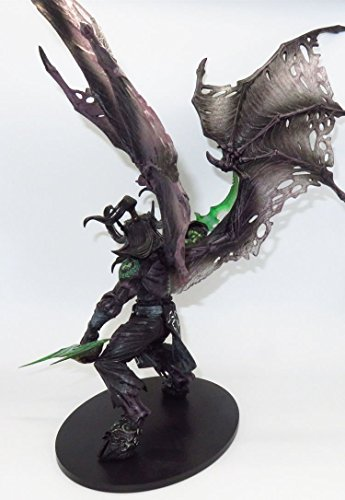 BLIZZARD WORLD of WARCRAFT ILLIDAN STORMRAGE DELUXE BOXED ACTION FIGURE STATUE