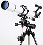 CTO Astronomicaltelescope Hd (90/900) with Stable Stand and Accessories,A,Telescope