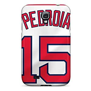 Deeck Galaxy S4 Well-designed Hard Case Cover Boston Red Sox Protector