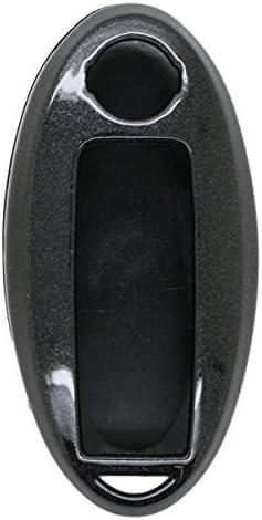 SEGADEN Paint PVC Color Shell Cover Hard Case Holder fit for NISSAN Smart Remote Key Fob SV0500 White