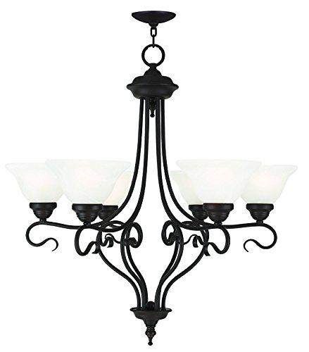 - Livex Lighting 6126-07 Coronado 6 Light Chandelier, Bronze