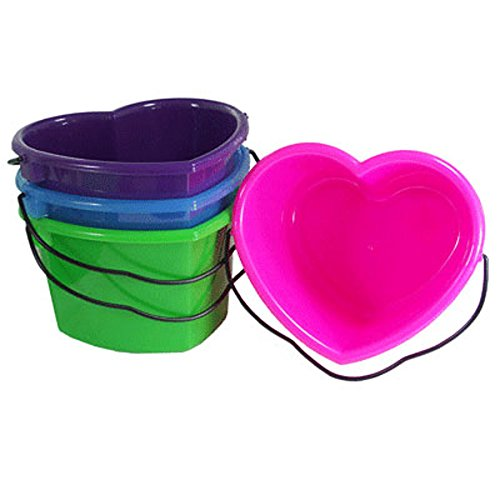 Heart Shaped 6 Quart Pail Royal