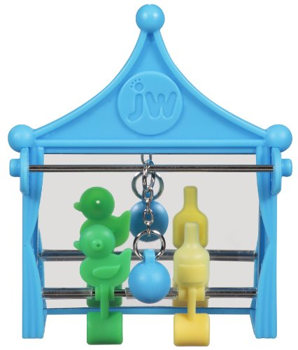 JW Pet Company Activitoy Shooting Gallery Small Bird Toy, Co