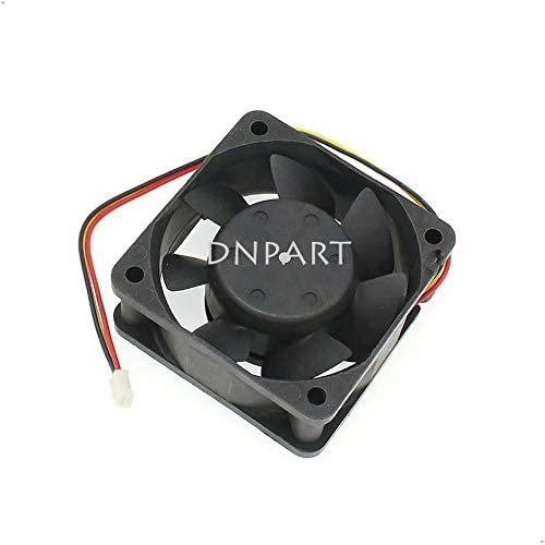 DNPART Cooling Fan for Mitsubishi 6025mm MMF-06D24DS FC5 24V 0.09A BKO-C2461H07 3 Wire Cooling Fan