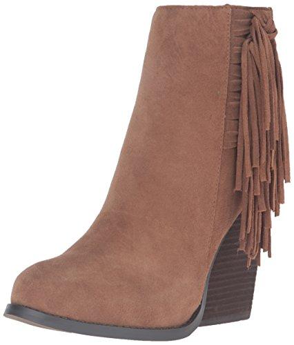 Very Volatile Women's Dreamcatch Ankle Bootie, Light Brown, 10 B US