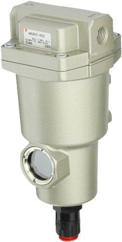 SMC AMG250C-N02D Water Separator, N.O. Auto Drain, 750 L/min, 1/4'' NPT by SMC
