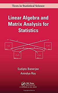 Matrix algebra useful for statistics wiley series in probability linear algebra and matrix analysis for statistics chapman hallcrc texts in statistical fandeluxe Choice Image