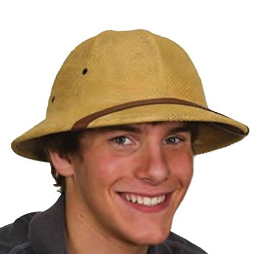 OvedcRay Adult British Pith Helmet Safari Jungle Explorer