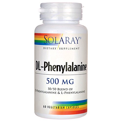 Solaray DL-Phenylalanine Free Form Vegetarian Capsules, 500 mg, 60 Count Review