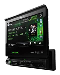 Pioneer AVH-P6300BT 7-Inch In-Dash DVD A/V Receiver with iPod/iPhone Control, Bluetooth, and Pandora
