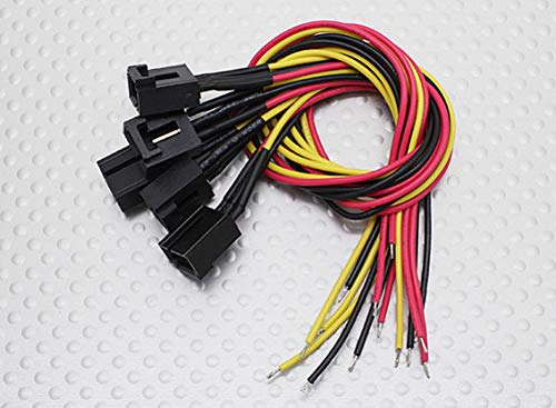 SKB family Molex 3 Pin Cable Male Connector with 220mm x 26AWG Wire