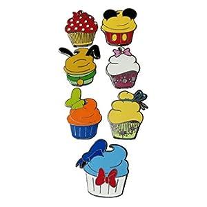 Walt Disney World Character Cupcake – Pin Set Pin 82947