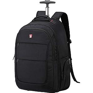 OIWAS Zaino Trolley con Ruote porta PC Donna e Uomo Bagaglio Cabin Size Valigia Bagaglio a Mano per Laptop da 15,6… 1 spesavip