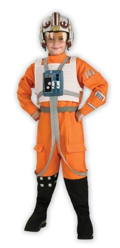 Star Wars X Wing Pilot (Costumes For All Occasions RU883164LG Star Wars Xwing Pilot Child Lg)