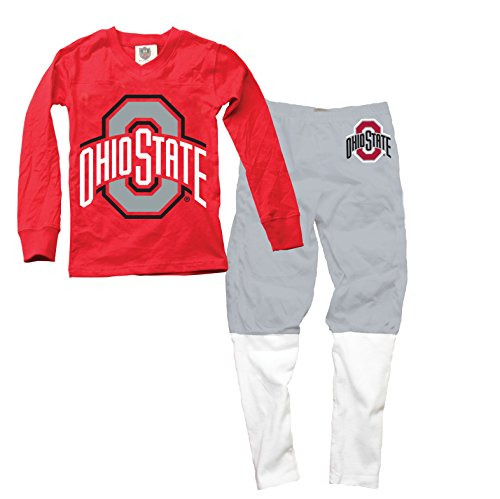 Wes and Willy Ohio State Buckeyes Football Pajamas ()