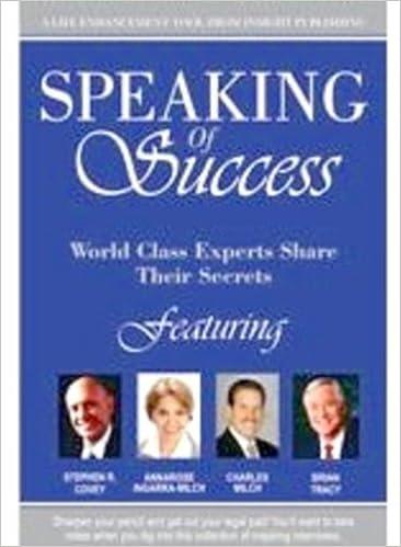 Book SPEAKING of Success