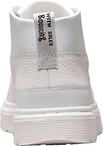 Dr. Martens Unisex-Erwachsene Jemima Schnürschuhe, Coronet Blue/Tan, Schuhgröße White
