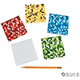 Pixel Digi Notepads - 24 ct by Party Supplies