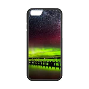 Case Cover For Apple Iphone 5C Northern Lights Phone Back Case Art Print Design Hard Shell Protection FG080408