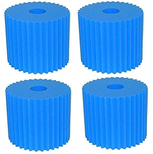 Filters 4 for Centralux Aerus Central Vacuum Foam Replacement