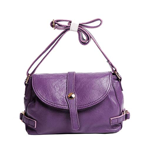 Main Purple Pour Transport Vintage Sac Femme Cuir Grand Sac Souple En à De OwqUPxAY75