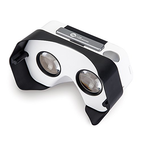 Newly Improved DSCVR Virtual Reality Viewer for iPhones and Android smartphones - Inspired by Google Cardboard 2.0 - Google WWGC certified VR viewer (Black) by I AM CARDBOARD® (Image #3)