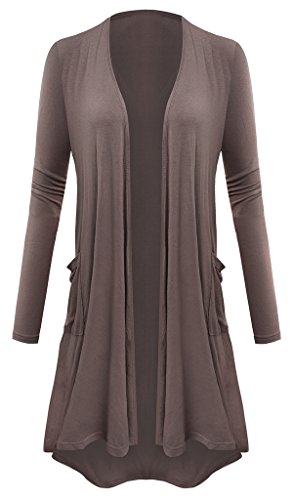 AM CLOTHES Plus Size Cardigan for Women Open Front Lightweight High Low Drape Cardigan