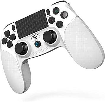 Comprar JOYSKY Mando Inalámbrico para PS4,Controlador De Juegos Inalámbrico con Control De Vibración Dual del Motor De Doble Palanca para Playstation 4 / Playstation 3 (Blanco)