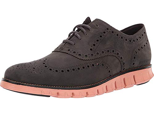 Cole Haan Men's Zerogrand Wingtip Oxford Leather Magnet Leather/Black/Canyon Sunset 12 D US from Cole Haan