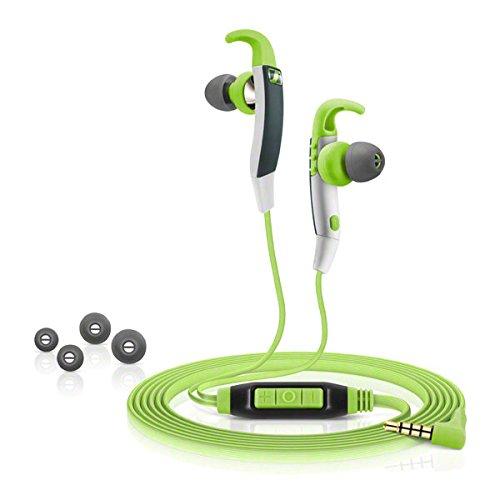 24 opinioni per Sennheiser CX686G, Microcuffia Microfonica Sport di Tipo Ear Canal, Verde