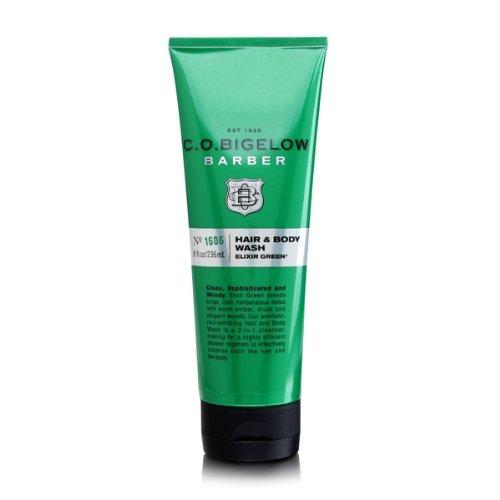 C.O. Bigelow Elixir Green Hair & Body Wash 8 oz
