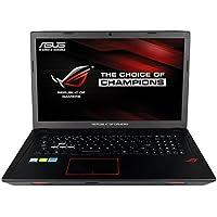 CUK ASUS ROG GL753 Gamer Laptop (Intel Quad Core i7-7700HQ, 16GB RAM, 512GB NVMe SSD + 1TB HDD, NVIDIA Geforce GTX 1050 Ti 4GB, 17 Full HD, Windows 10) Gaming Notebook Computer