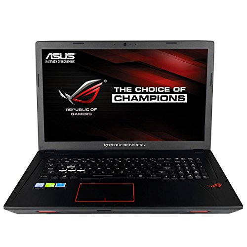 "CUK ASUS GL753 ROG Gamer Laptop (Intel Quad Core i7-7700HQ, 16GB RAM, 512GB NVMe SSD + 1TB HDD, NVIDIA GTX 1050 4GB, 17.3"" Full HD, Windows 10) Gaming Notebook Computer"