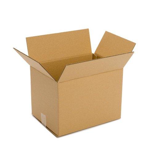 (Pratt PRA0073 100% Recycled Corrugated Cardboard Box, 14