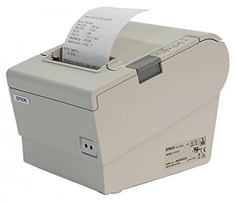 Impresora térmica m129h Epson TM-T88IV Serie/Color Blanco: Amazon ...