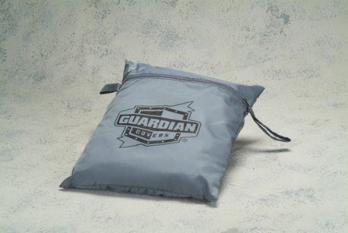 Dowco Guardian 50005-03 WeatherAll Waterproof Indoor/Outdoor Motorcycle Cover: Grey, XX-Large
